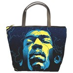 Gabz Jimi Hendrix Voodoo Child Poster Release From Dark Hall Mansion Bucket Bags