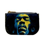 Gabz Jimi Hendrix Voodoo Child Poster Release From Dark Hall Mansion Mini Coin Purses