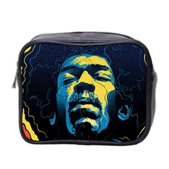 Gabz Jimi Hendrix Voodoo Child Poster Release From Dark Hall Mansion Mini Toiletries Bag 2 Side by Onesevenart