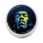 Gabz Jimi Hendrix Voodoo Child Poster Release From Dark Hall Mansion 4-Port USB Hub (Two Sides)