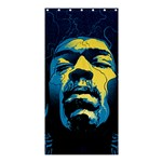 Gabz Jimi Hendrix Voodoo Child Poster Release From Dark Hall Mansion Shower Curtain 36  x 72  (Stall)