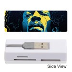 Gabz Jimi Hendrix Voodoo Child Poster Release From Dark Hall Mansion Memory Card Reader (Stick)