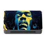 Gabz Jimi Hendrix Voodoo Child Poster Release From Dark Hall Mansion Memory Card Reader with CF