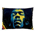 Gabz Jimi Hendrix Voodoo Child Poster Release From Dark Hall Mansion Pillow Case (Two Sides)