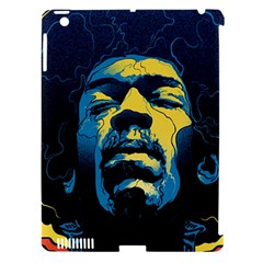 Gabz Jimi Hendrix Voodoo Child Poster Release From Dark Hall Mansion Apple Ipad 3/4 Hardshell Case (compatible With Smart Cover) by Onesevenart