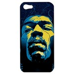 Gabz Jimi Hendrix Voodoo Child Poster Release From Dark Hall Mansion Apple iPhone 5 Hardshell Case