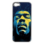 Gabz Jimi Hendrix Voodoo Child Poster Release From Dark Hall Mansion Apple iPhone 5 Case (Silver)