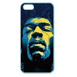 Gabz Jimi Hendrix Voodoo Child Poster Release From Dark Hall Mansion Apple Seamless iPhone 5 Case (Color)