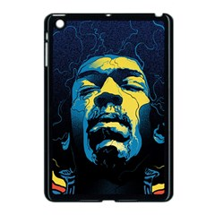 Gabz Jimi Hendrix Voodoo Child Poster Release From Dark Hall Mansion Apple Ipad Mini Case (black) by Onesevenart
