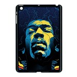 Gabz Jimi Hendrix Voodoo Child Poster Release From Dark Hall Mansion Apple iPad Mini Case (Black)
