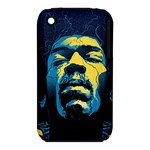 Gabz Jimi Hendrix Voodoo Child Poster Release From Dark Hall Mansion Apple iPhone 3G/3GS Hardshell Case (PC+Silicone)