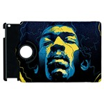 Gabz Jimi Hendrix Voodoo Child Poster Release From Dark Hall Mansion Apple iPad 2 Flip 360 Case