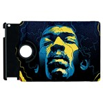 Gabz Jimi Hendrix Voodoo Child Poster Release From Dark Hall Mansion Apple iPad 3/4 Flip 360 Case