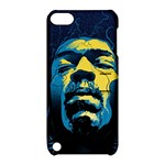Gabz Jimi Hendrix Voodoo Child Poster Release From Dark Hall Mansion Apple iPod Touch 5 Hardshell Case with Stand