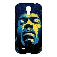 Gabz Jimi Hendrix Voodoo Child Poster Release From Dark Hall Mansion Samsung Galaxy S4 I9500/i9505 Hardshell Case by Onesevenart