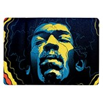 Gabz Jimi Hendrix Voodoo Child Poster Release From Dark Hall Mansion Samsung Galaxy Tab 10.1  P7500 Flip Case