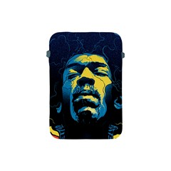 Gabz Jimi Hendrix Voodoo Child Poster Release From Dark Hall Mansion Apple Ipad Mini Protective Soft Cases by Onesevenart
