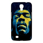 Gabz Jimi Hendrix Voodoo Child Poster Release From Dark Hall Mansion Samsung Galaxy Mega 6.3  I9200 Hardshell Case