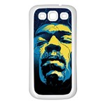 Gabz Jimi Hendrix Voodoo Child Poster Release From Dark Hall Mansion Samsung Galaxy S3 Back Case (White)