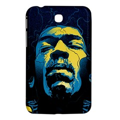 Gabz Jimi Hendrix Voodoo Child Poster Release From Dark Hall Mansion Samsung Galaxy Tab 3 (7 ) P3200 Hardshell Case  by Onesevenart