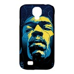 Gabz Jimi Hendrix Voodoo Child Poster Release From Dark Hall Mansion Samsung Galaxy S4 Classic Hardshell Case (PC+Silicone)
