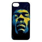Gabz Jimi Hendrix Voodoo Child Poster Release From Dark Hall Mansion Apple iPhone 5S/ SE Hardshell Case