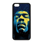 Gabz Jimi Hendrix Voodoo Child Poster Release From Dark Hall Mansion Apple iPhone 5C Seamless Case (Black)