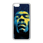 Gabz Jimi Hendrix Voodoo Child Poster Release From Dark Hall Mansion Apple iPhone 5C Seamless Case (White)