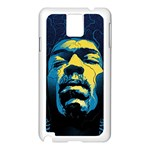 Gabz Jimi Hendrix Voodoo Child Poster Release From Dark Hall Mansion Samsung Galaxy Note 3 N9005 Case (White)
