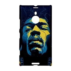 Gabz Jimi Hendrix Voodoo Child Poster Release From Dark Hall Mansion Nokia Lumia 1520 by Onesevenart