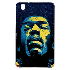 Gabz Jimi Hendrix Voodoo Child Poster Release From Dark Hall Mansion Samsung Galaxy Tab Pro 8 4 Hardshell Case by Onesevenart
