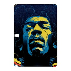 Gabz Jimi Hendrix Voodoo Child Poster Release From Dark Hall Mansion Samsung Galaxy Tab Pro 12 2 Hardshell Case by Onesevenart