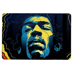 Gabz Jimi Hendrix Voodoo Child Poster Release From Dark Hall Mansion Ipad Air Flip by Onesevenart