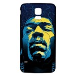Gabz Jimi Hendrix Voodoo Child Poster Release From Dark Hall Mansion Samsung Galaxy S5 Back Case (White)