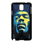Gabz Jimi Hendrix Voodoo Child Poster Release From Dark Hall Mansion Samsung Galaxy Note 3 Neo Hardshell Case (Black)