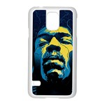 Gabz Jimi Hendrix Voodoo Child Poster Release From Dark Hall Mansion Samsung Galaxy S5 Case (White)