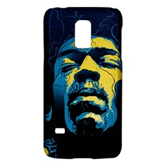 Gabz Jimi Hendrix Voodoo Child Poster Release From Dark Hall Mansion Galaxy S5 Mini by Onesevenart