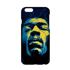 Gabz Jimi Hendrix Voodoo Child Poster Release From Dark Hall Mansion Apple Iphone 6/6s Hardshell Case by Onesevenart