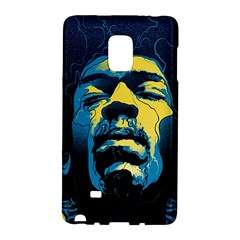 Gabz Jimi Hendrix Voodoo Child Poster Release From Dark Hall Mansion Galaxy Note Edge by Onesevenart