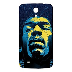 Gabz Jimi Hendrix Voodoo Child Poster Release From Dark Hall Mansion Samsung Galaxy Mega I9200 Hardshell Back Case by Onesevenart