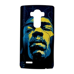 Gabz Jimi Hendrix Voodoo Child Poster Release From Dark Hall Mansion Lg G4 Hardshell Case by Onesevenart