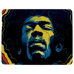 Gabz Jimi Hendrix Voodoo Child Poster Release From Dark Hall Mansion Jigsaw Puzzle Photo Stand (rectangular) by Onesevenart