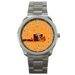 Nyan Cat Vintage Sport Metal Watch