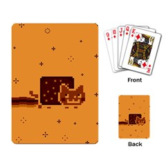 Nyan Cat Vintage Playing Card by Onesevenart