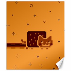 Nyan Cat Vintage Canvas 20  X 24   by Onesevenart