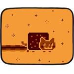 Nyan Cat Vintage Fleece Blanket (Mini)
