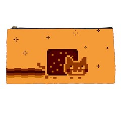 Nyan Cat Vintage Pencil Cases by Onesevenart