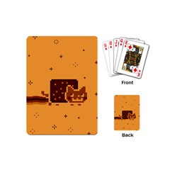 Nyan Cat Vintage Playing Cards (mini)  by Onesevenart
