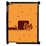 Nyan Cat Vintage Apple iPad 2 Case (Black)