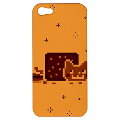 Nyan Cat Vintage Apple Iphone 5 Hardshell Case by Onesevenart